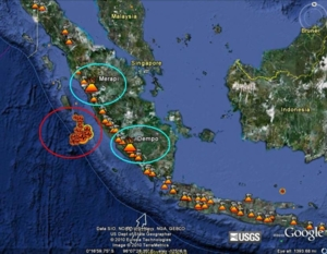 Volcano and earthquake Oct 10
