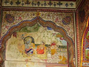 ภาพวาดที่ปราสาท ชัยซัลเมอร์