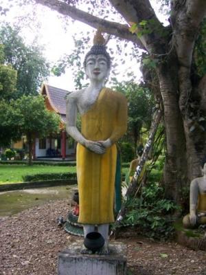 พระพุทธรูปปางถวายเนตร