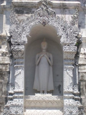 พระพุทธรูปบนพระบรมธาตุถิ่นแถนหลวง