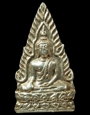 เหรียญพระพุทธชินราชพานพระศรี ปี 2495 เนื้อเงิน a