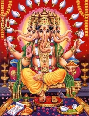 Ganesha Panchamukha