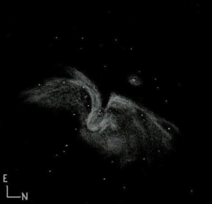 orion nebula inverted