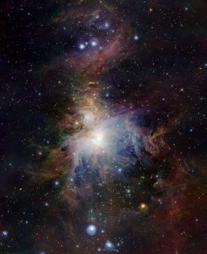 487px VISTA infrared Orion Nebula