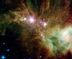 stellar nebula cone nebula stars