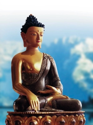 Buddha statue mountains rGP