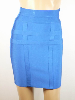 Herve Leger 2011 Bandage Skirt blue