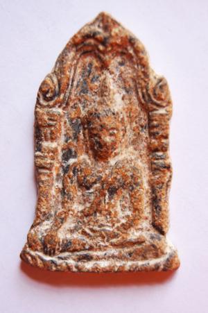 พระพุทธชินราชเนื้อชิน พิมพ์ใบเสมาใหญ่ 1000
