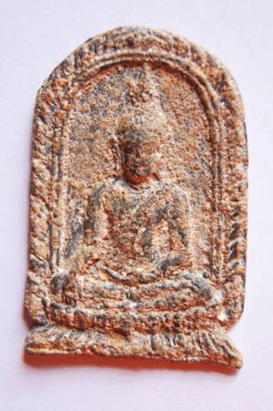 พระพุทธชินราชเนื้อชิน พิมพ์ปรกโพธิ์ 1000