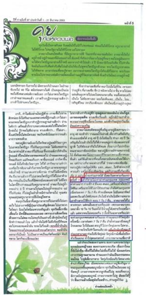 Thailand Prediction