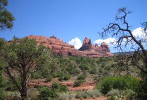 เมือง Sedona ในรัฐ Arizona เป็นเมืองที่เป็นภูเขาสีแดงแบบนี้ทั้งเมือง เป็นเมืองที่สวยน่าประทับใจมากกกก อยากไปอีกจังค่ะ