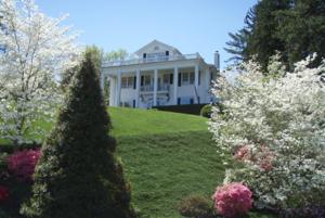 หน้าฤดูใบไม้ผลิ (Spring) เพื่อนบ้านใน Asheville, North Carolina