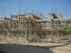 ศาลาการเปรียญที่กำลังก่อสร้าง2