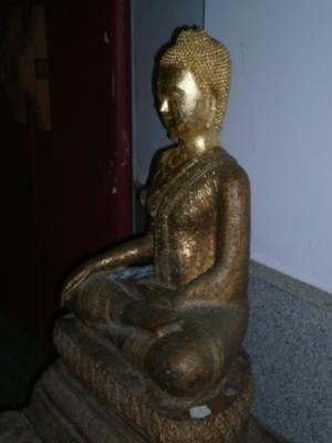 โครงการบูรณะซ่อมแซมพระพุทธรูปปางมารวิชัย อายุ 202 ปี ยอดพระเกตุเป็นทองคำแท้ ปัจจุบันได้ถูกขโมย เมื่อลงรักปิดทองแล้วจะขึ้นทะเบียนเป็นวัตถุโบราณของชาติ