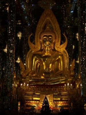พระพุทธชินราชในวิหารแก้ว วัดท่าซุง 3
