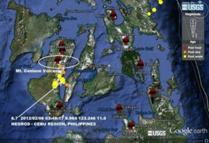 earthquake 6.9 Cebu 6 feb 12