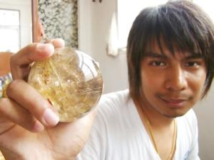 golden rutile quartz