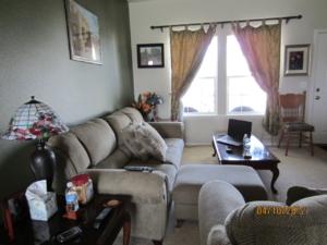 My living room in Idaho.