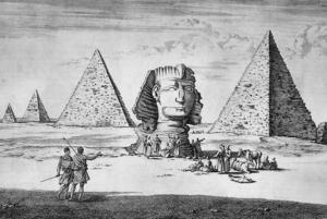 Cornelis de bruijn giza sphinx