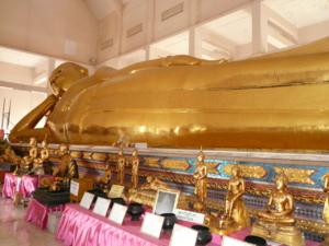 พระพุทธไสยาสน์ ใหญ่ที่สุดของภาคตะวันออก
