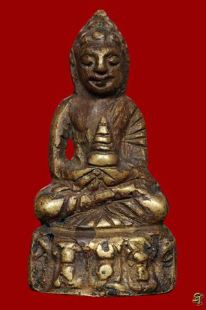 พระกริ่งหน้าอินเดีย พ.ศ. ๒๔๘๒ พิมพ์หน้าเล็ก สมเด็จพระสังฆราชแพ วัดสุทัศน์