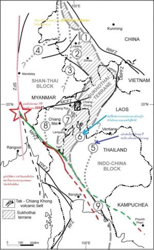 Thailand Burma earthquake 11 Nov 12