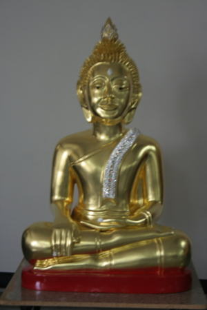 หลวงพ่อศักดิ์สิทธิ์หน้าตัก 26นิ้ว ถวายวัดไทยเกสรียา ไวสาลี อินเดีย