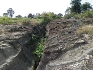 หินรางของหมู่บ้าน
