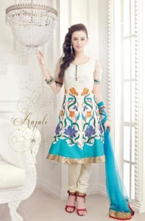 Indian Salwar Kameez 2012  New Capri & Kurti Fashion aanchal