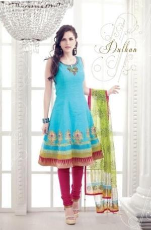 Indian Salwar Kameez 2012  New Capri & Kurti Fashion aanchal (8)
