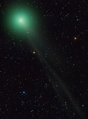COMET LEMMON UPDATE: Glowing much brighter than expected, Comet Lemmon (C/2012 F6) is gliding through the skies of the southern hemisphere about 92 mi