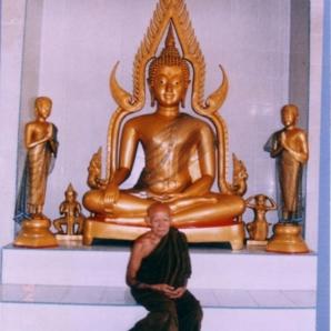 LP MeeChai and Buddha