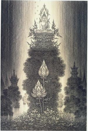 รูปพระพุทธเจ้า ของอาจารย์เฉลิมชัย