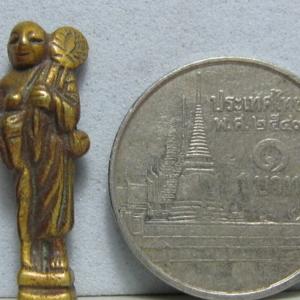 สิวลีหลวงปู่นาค พิมพ์เล็ก เทียบเหรียญบาท