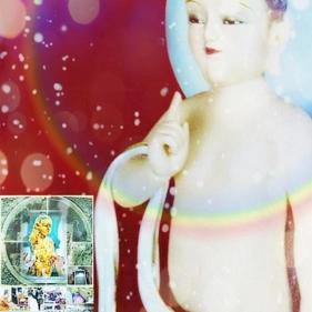 """Buddha Baby  """"हम दुनिया में सबसे अच्छा हैं. हम दुनिया के लिए सबसे मुझे भाता है. इस अंतिम अवतार है. हम 'के ऊपर का एक नया अवतार होगा."""" """"We are maj"""