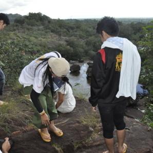 วัดถ้ำพระ 2 เย็นวันที่ 7 ก.ย. 56 ฝนตกหนัก