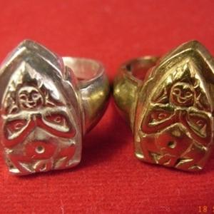 แหวนแม่พิม เงิน +.ทองเหลือง คุณสันติ