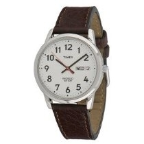 Timex Brown Watch With White Dial