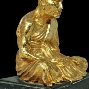 พระบูชารูปเหมือน หลวงพ่อกลั่น วัดพระญาติ ๒๕๐๙
