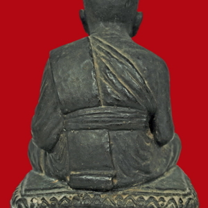 พระบูชาหลวงปู่ทวด เนื้อผง วัดโพธิ์ 2505