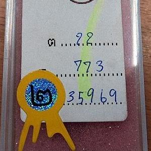 หลวงปู่เอี่ยม วัดหนัง ปี2515 เนื้อทองแดง หลังยันต์สี่ พิมพ์นิยม เอขาด รองแชมป์ ที่ 2