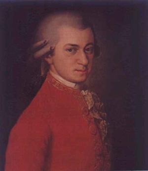 Wolfgang Amadeus Mozart (W.A. Mosart)  Johann Chrysostom Wolfgang Amadeus Mozart[full name]  (27 January 1756