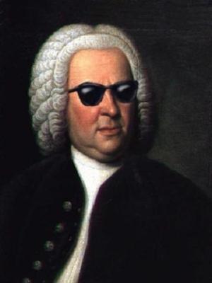 Johann Sebastian Bach (shades)  (31 March 1685 [O.S. 21 March]