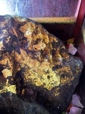 รอยพระพุทธหัตถ์ วัดถ้ำเขากระปุก