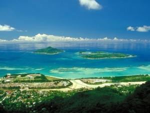 Ariel View Seychelles