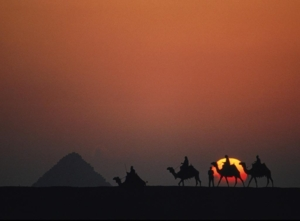 Egypt Desert Sunset