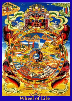 Bhavachakra (The Wheel Of Life   or Existence, or Becoming)