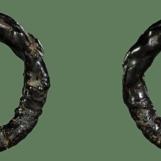 แหวนพิรอด หลวงพ่อม่วง วัดบ้านทวน กาญจนบุรี ลงรักปิดทองเดิม