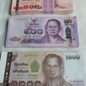 เงินส่วนตัวเตรียมร่วมบุญกฐินวัดป่าปิยธัมโม